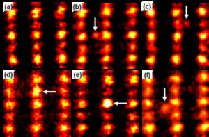 東大、プラチナ単原子が酸化チタン表面の原子の穴に入る現象を世界で初めて発見