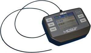北大など,プラスチック光ファイバを検出部に用いたX線による皮膚障害予防に有効な線量計を開発