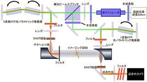 理研、室温で2次元のテラヘルツ波像を高感度に可視化する技術を開発