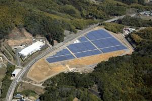 NTTファシリティーズ,岐阜と大分に太陽光発電所を竣工