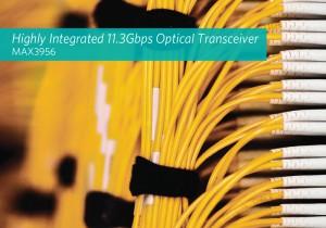 Maxim Integrated,データセンター向け11.3Gb/sイーサネット光トランシーバICを発売