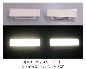 NHKと小糸製作所,クルムス蛍光体を用いた「目に優しい」白色LED照明を開発