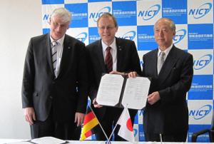 NICT,ドイツ航空宇宙センターとの研究協力協定を締結