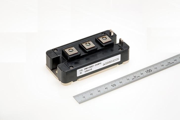 三菱電機,高周波用ハイブリッドSiCパワー半導体モジュールのサンプル提供を開始