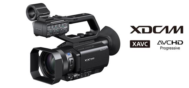 ソニー,高感度1.0型イメージセンサー搭載4K対応カムコーダ発売
