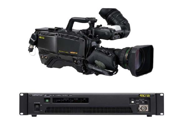 日立国際電気,放送用4Kカメラシステム「SK-UHD4000」を開発