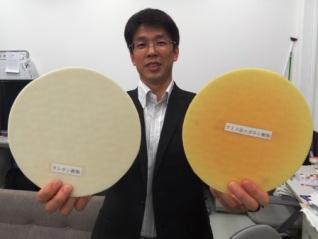 立命館大と九重電気,従来の3倍以上の研磨能率を持つ研磨パッドを開発