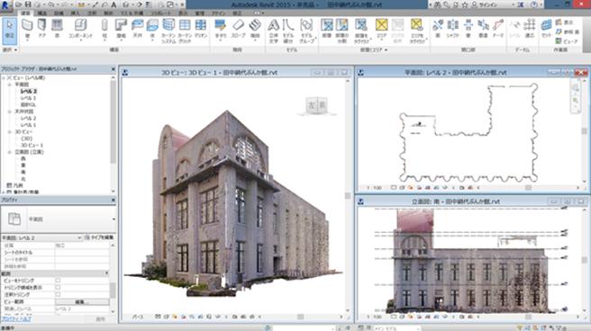 トプコン,歴史的建築文化財を3Dスキャニングする保存プロジェクトに参加