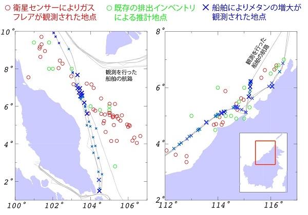 国立環境研究所,レーザを用いて洋上油井・ガス井からのメタン排出を確認する技術を開発