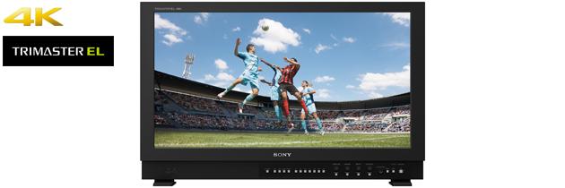 ソニー,30型4K有機ELパネルを搭載したマスターモニタを発売