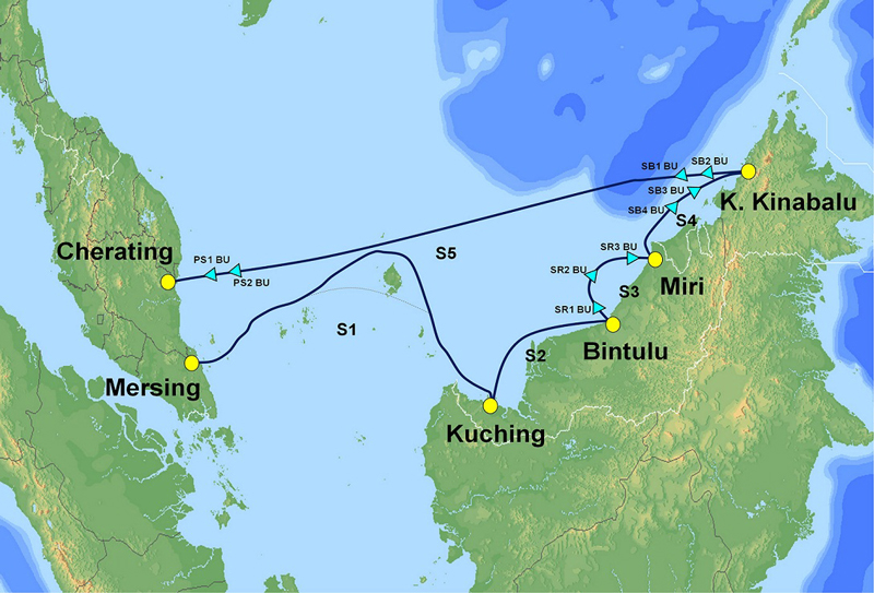 NEC,マレーシアで光海底ケーブルを受注