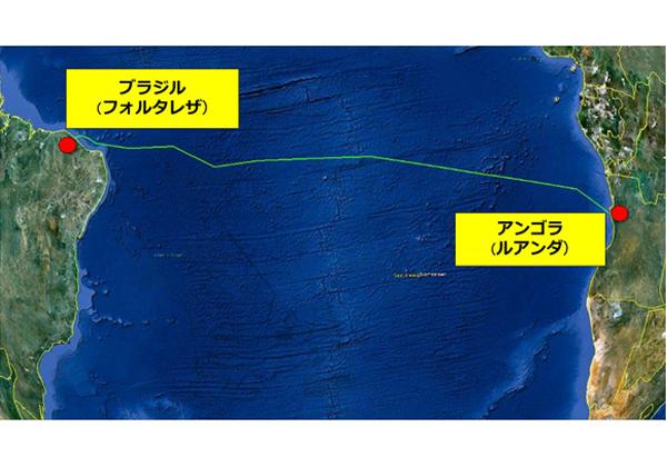 NEC,南大西洋横断海底ケーブルの敷設開始