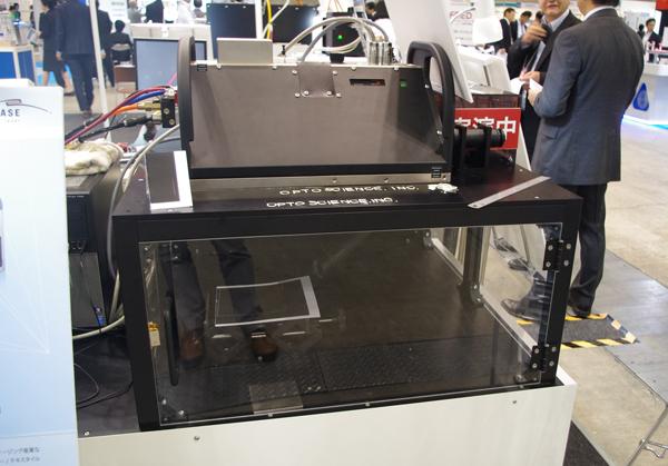 【OPIE'16】オプトサイエンス,用途別レーザー加工装置をデモ
